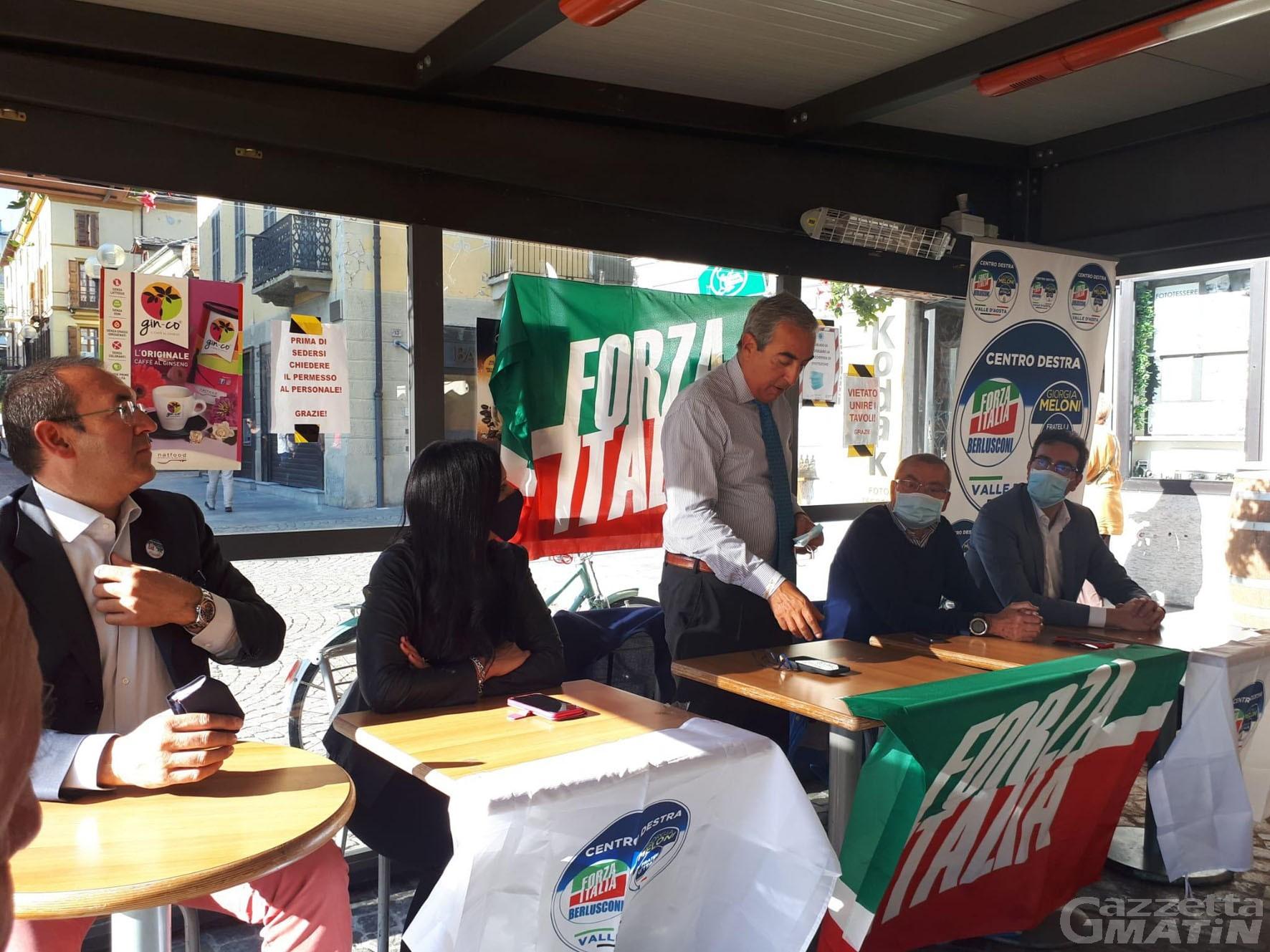 Regione: Forza Italia denuncia l'immobilismo della maggioranza