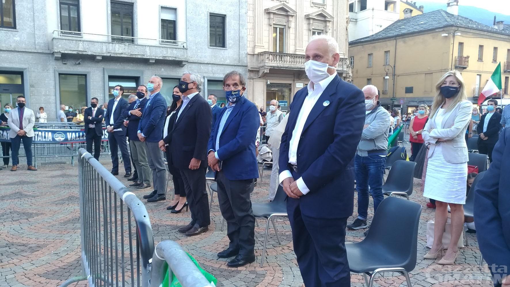 Elezioni, Tajani (FI) e La Russa (FrI): «A urne chiuse sedersi con la Lega al tavolo delle trattative»