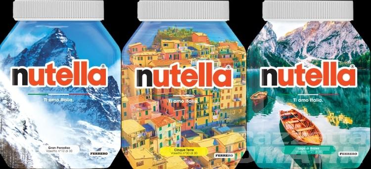 Nutella: il Gran Paradiso sui vasetti della special edition 'Ti amo Italia'