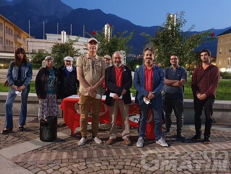 Comunali Aosta, PCI: «Abbiamo già governato bene, metteteci alla prova»