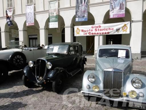 Il Club Ruote storiche in Canavese riaccende i motori