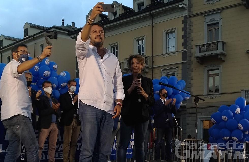 Elezioni, Salvini (Lega): «La Valle merita di più e di meglio»