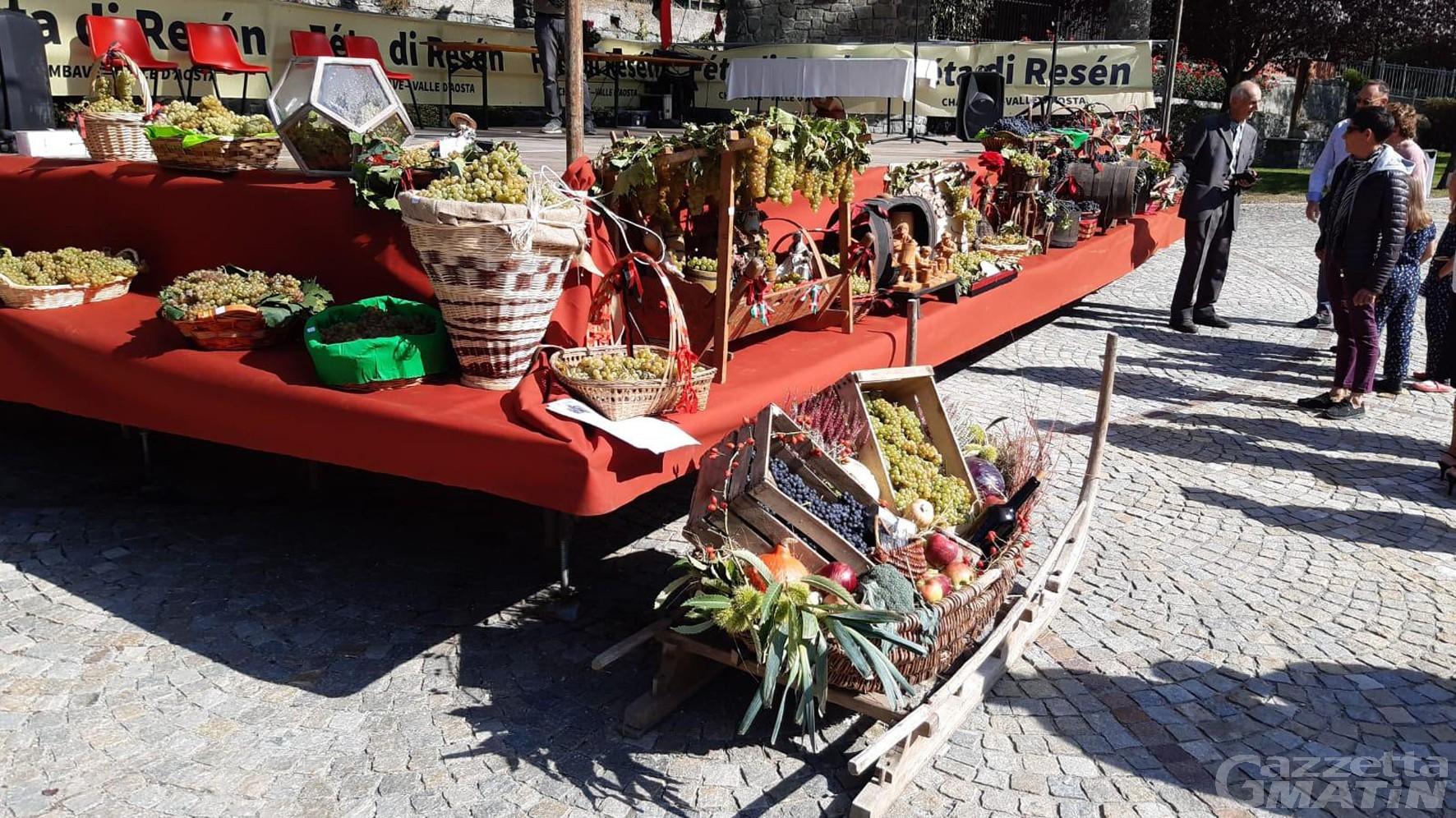 Sagre: annullata la Festa dell'Uva di Chambave e la Dézarpa di Valtournenche