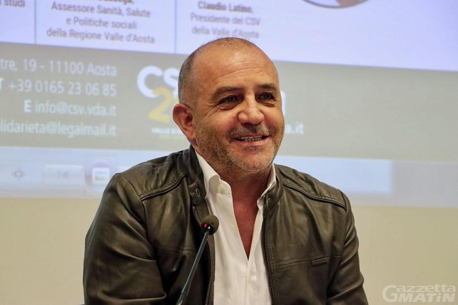 Volontariato: Claudio Latino riconfermato presidente del Csv Valle d'Aosta