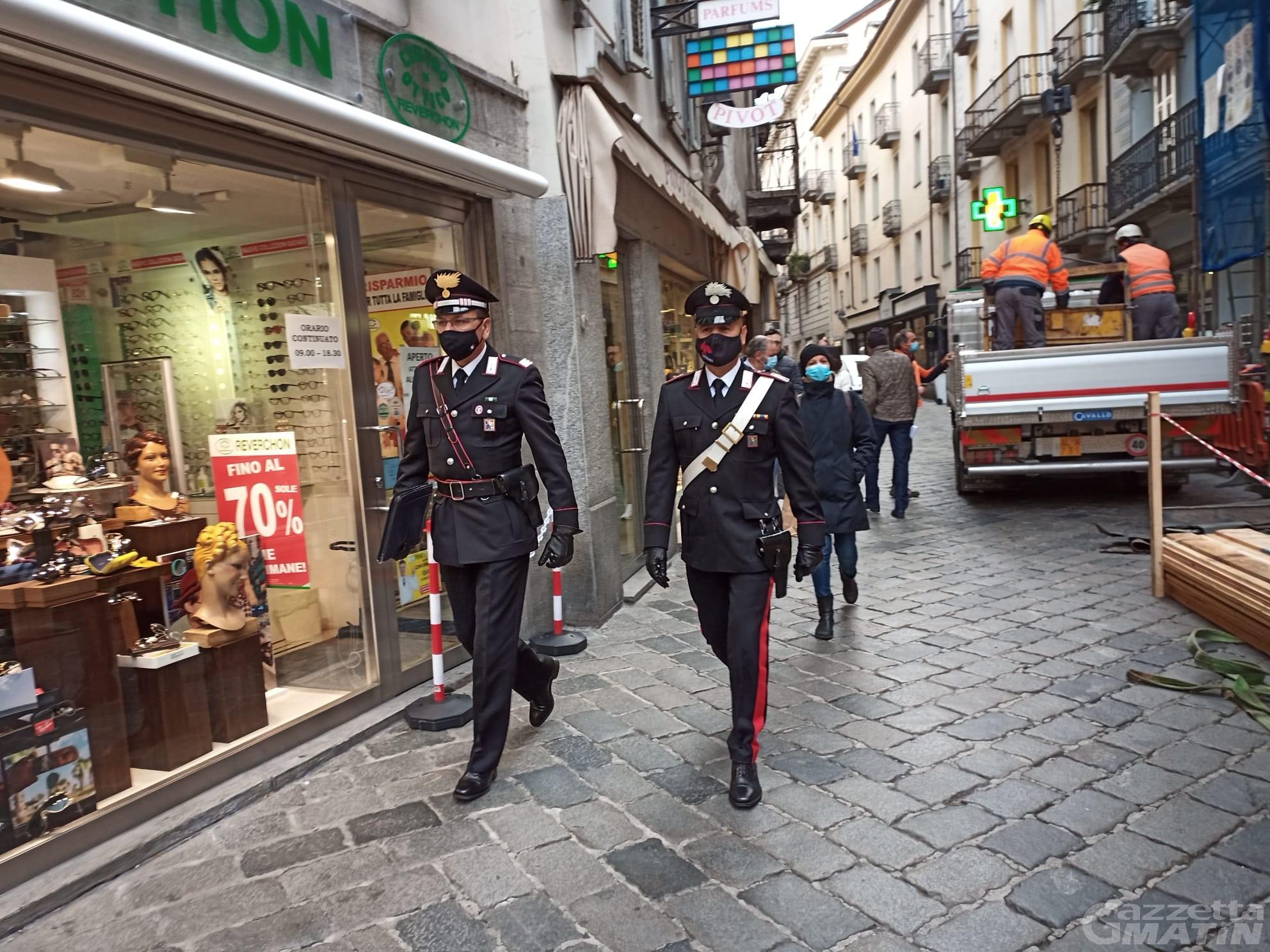 Coronavirus: intensificati i controlli dei Carabinieri in Valle d'Aosta