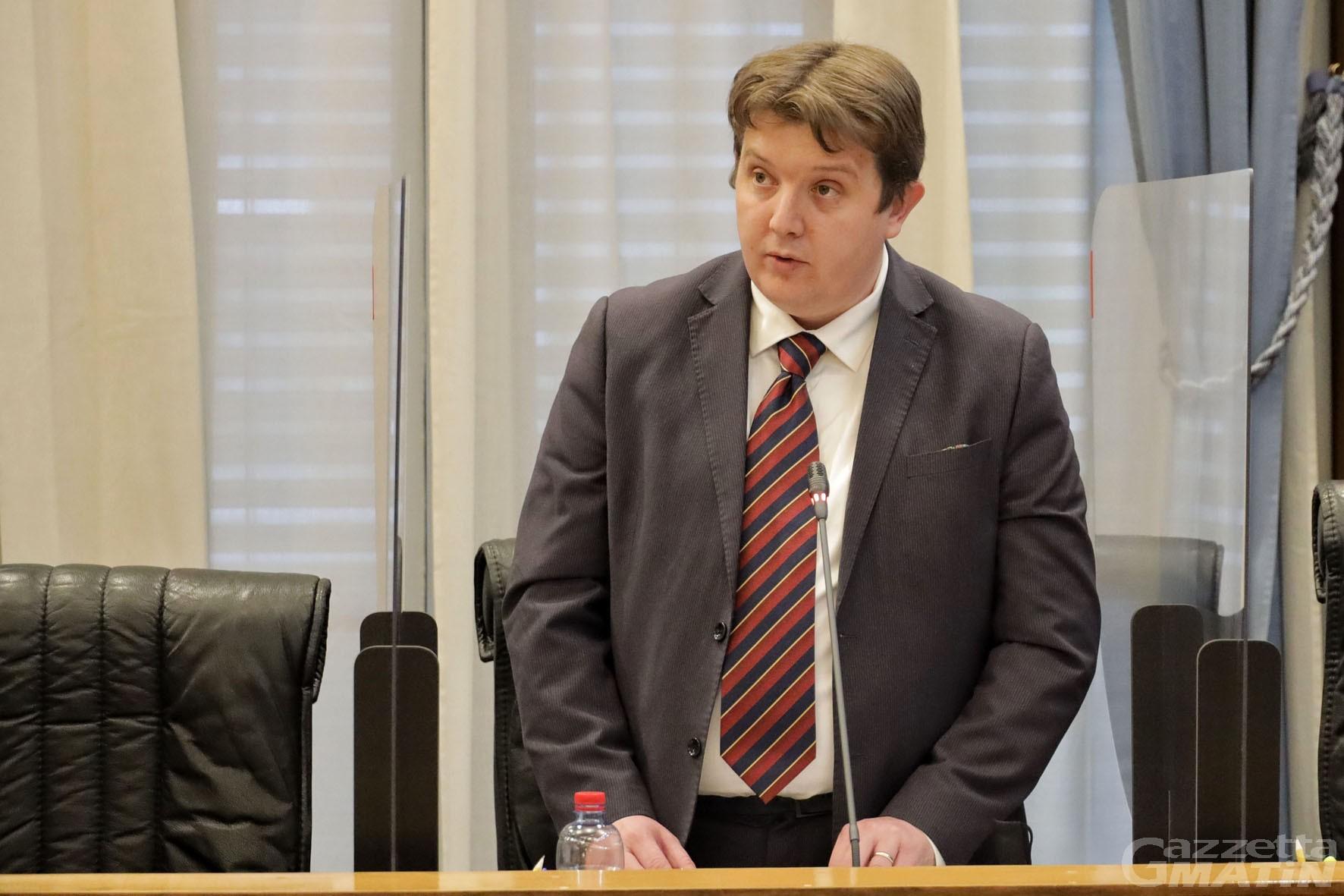 Zona rossa, il presidente Lavevaz scrive al ministro Speranza: «Evidenti errori di calcolo»
