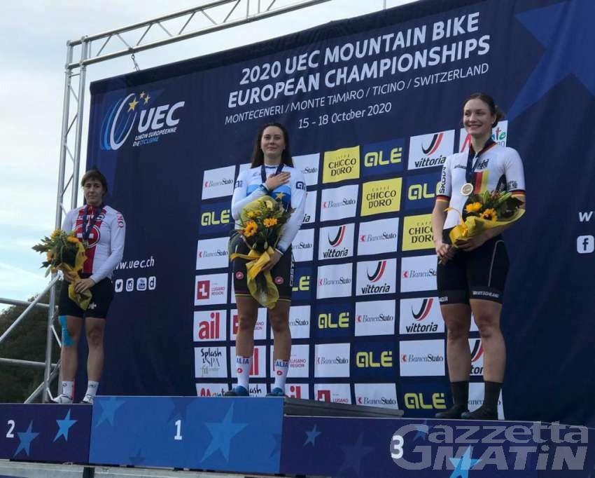 MTB: Gaia Tormena concede il bis, è ancora lei la campionessa europea di XCE