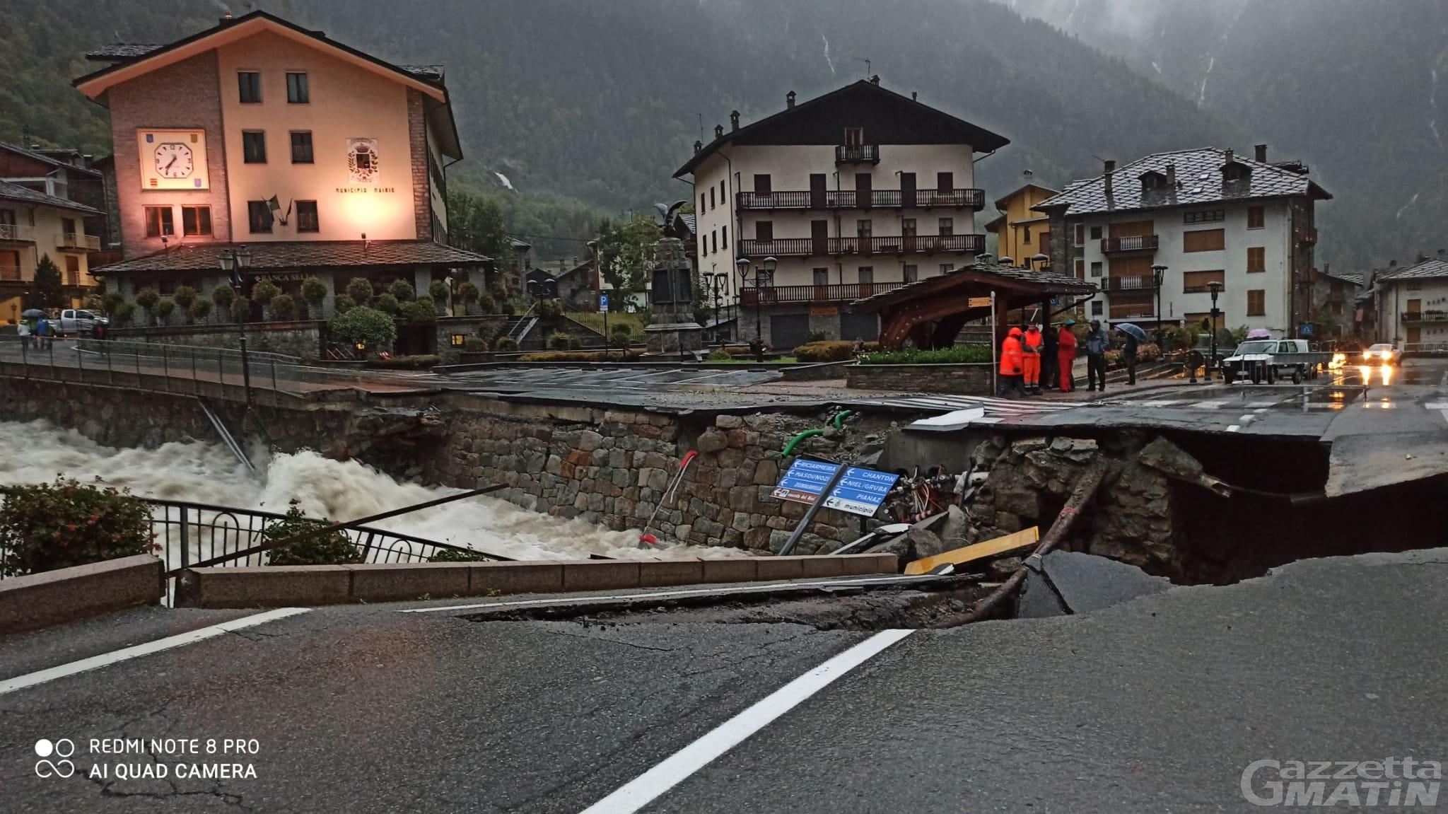 Maltempo, Valle d'Aosta dichiara stato di calamità