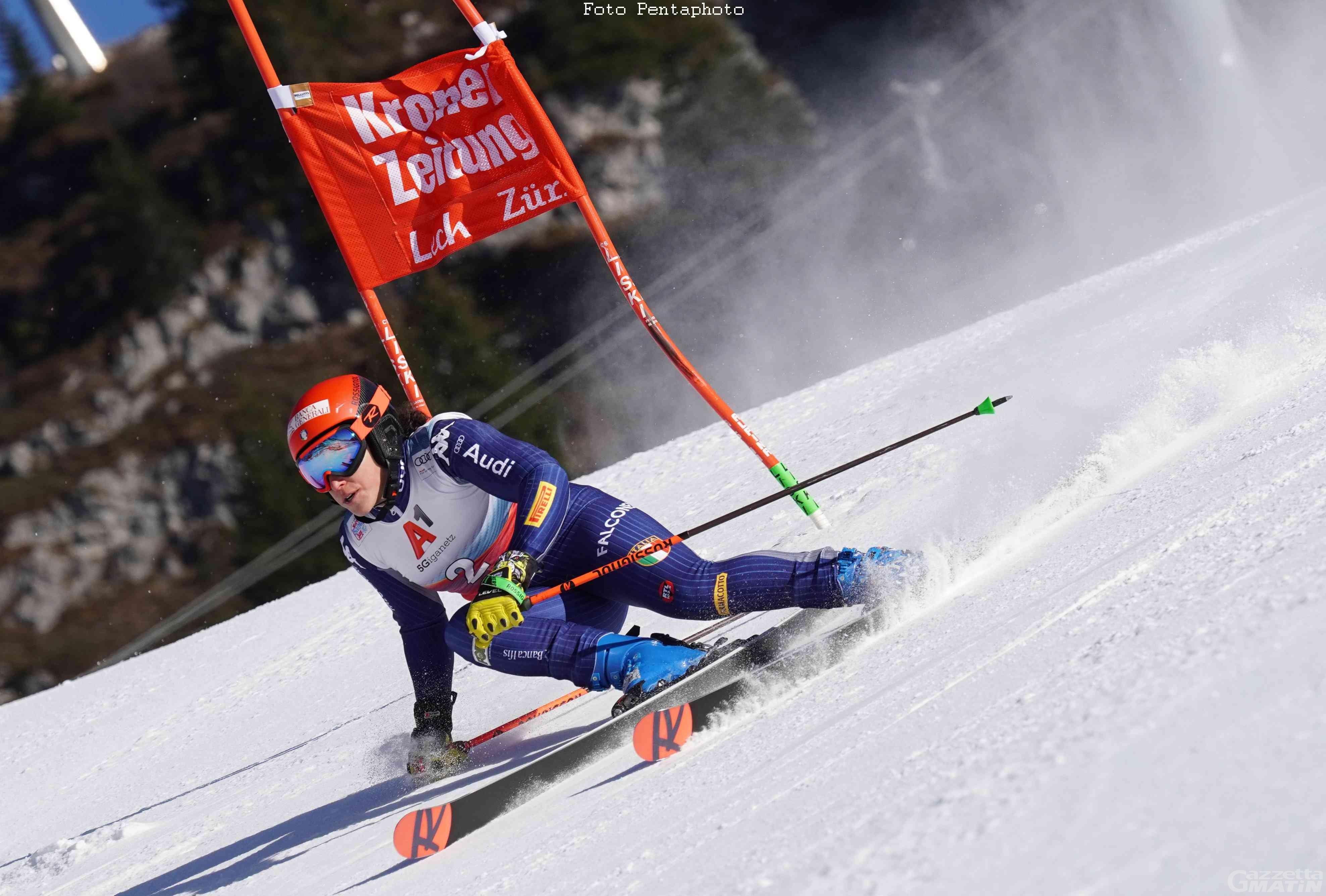 Sci alpino: Federica Brignone 7ª nel parallelo di Lech