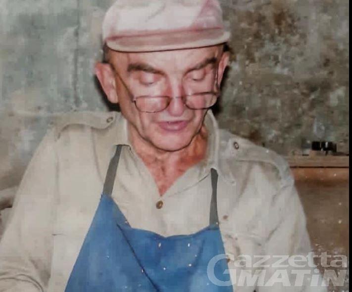 Fénis in lutto: addio all'artigiano Luigi Merivot, per tutti Gino de Lidor