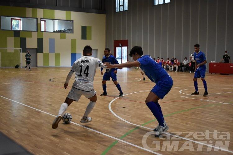 Futsal: l'Aosta Calcio 511 gioca domenica mattina