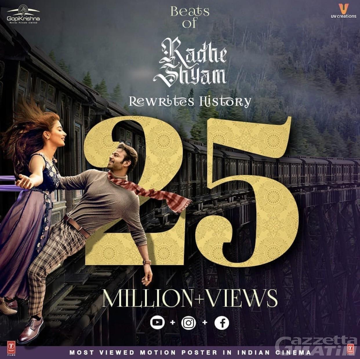 Bollywood torna in Valle d'Aosta: scene romantiche di con le star indiane Prahbas e Pooja Hedge