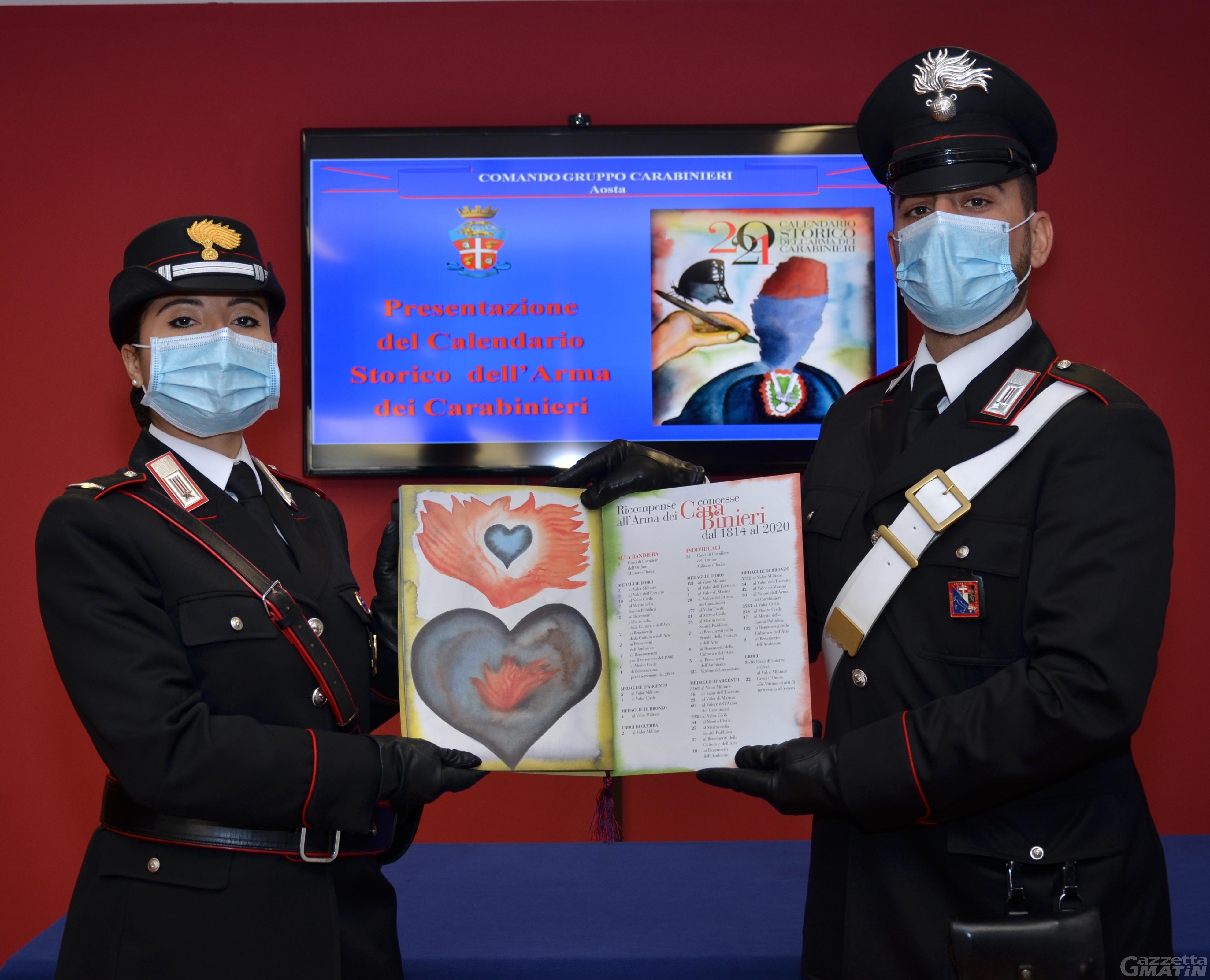 Carabinieri, l'81ª edizione del calendario celebra Dante Aligheri