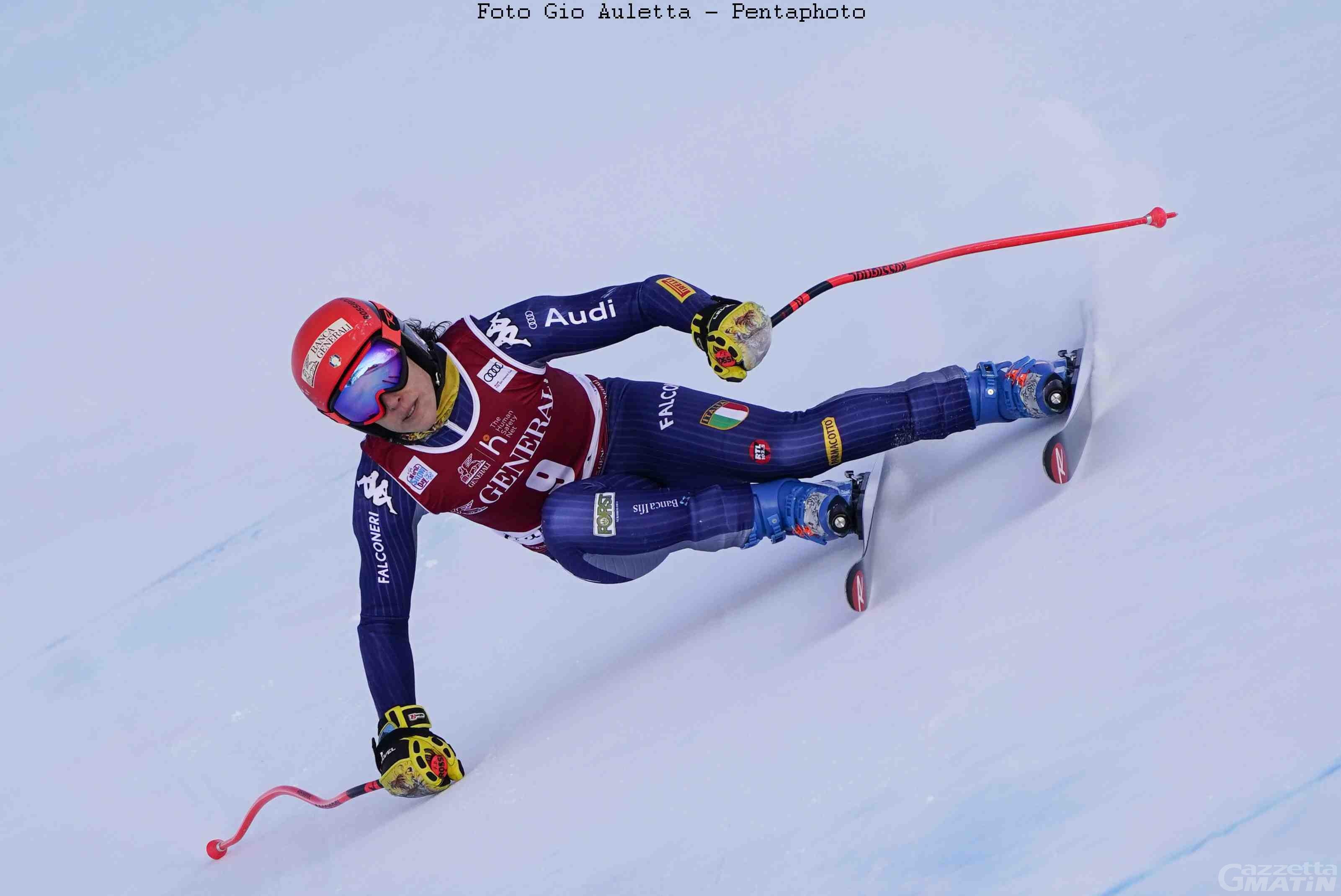 Sci alpino: Federica Brignone 6ª a metà gara a Kranjska Gora