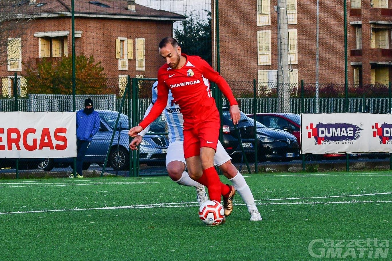 Calcio: il P.D.H.A.E. si rinforza con l'attaccante Daniele Bernasconi