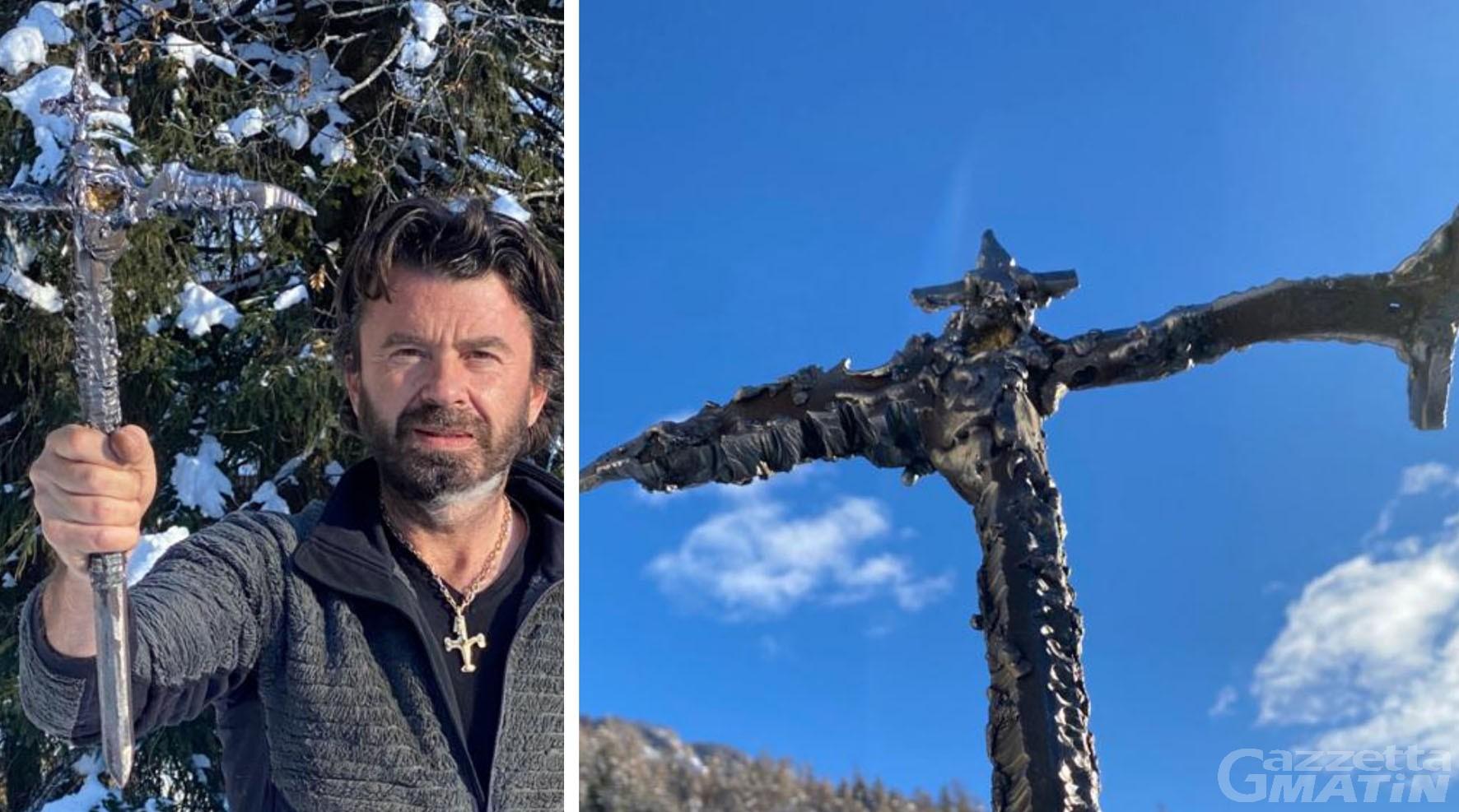 Gabriele Maquignaz forgia la piccozza della libertà dei popoli di montagna, monito per Conte
