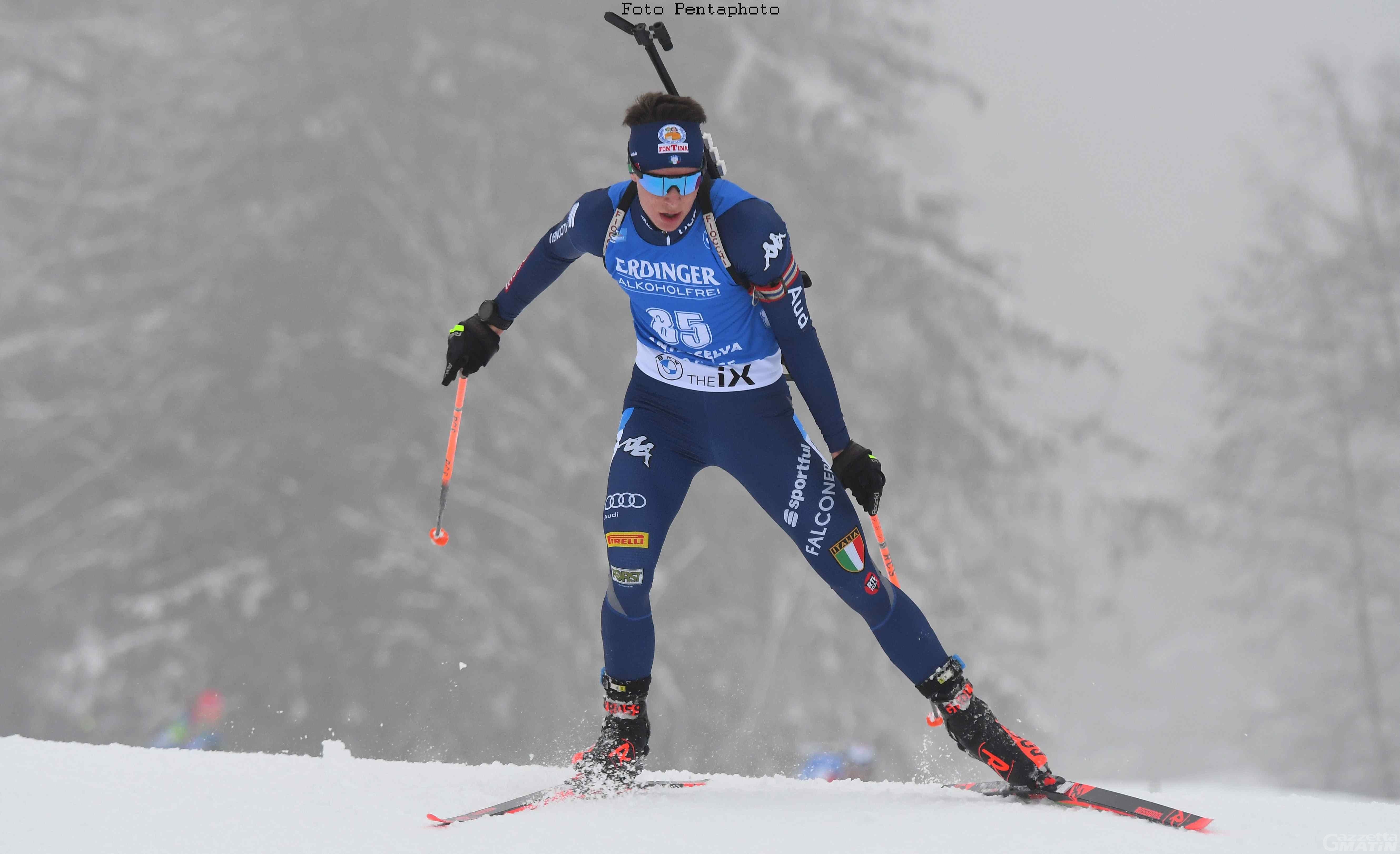 Biathlon: Didier Bionaz 5° in staffetta ad Anterselva