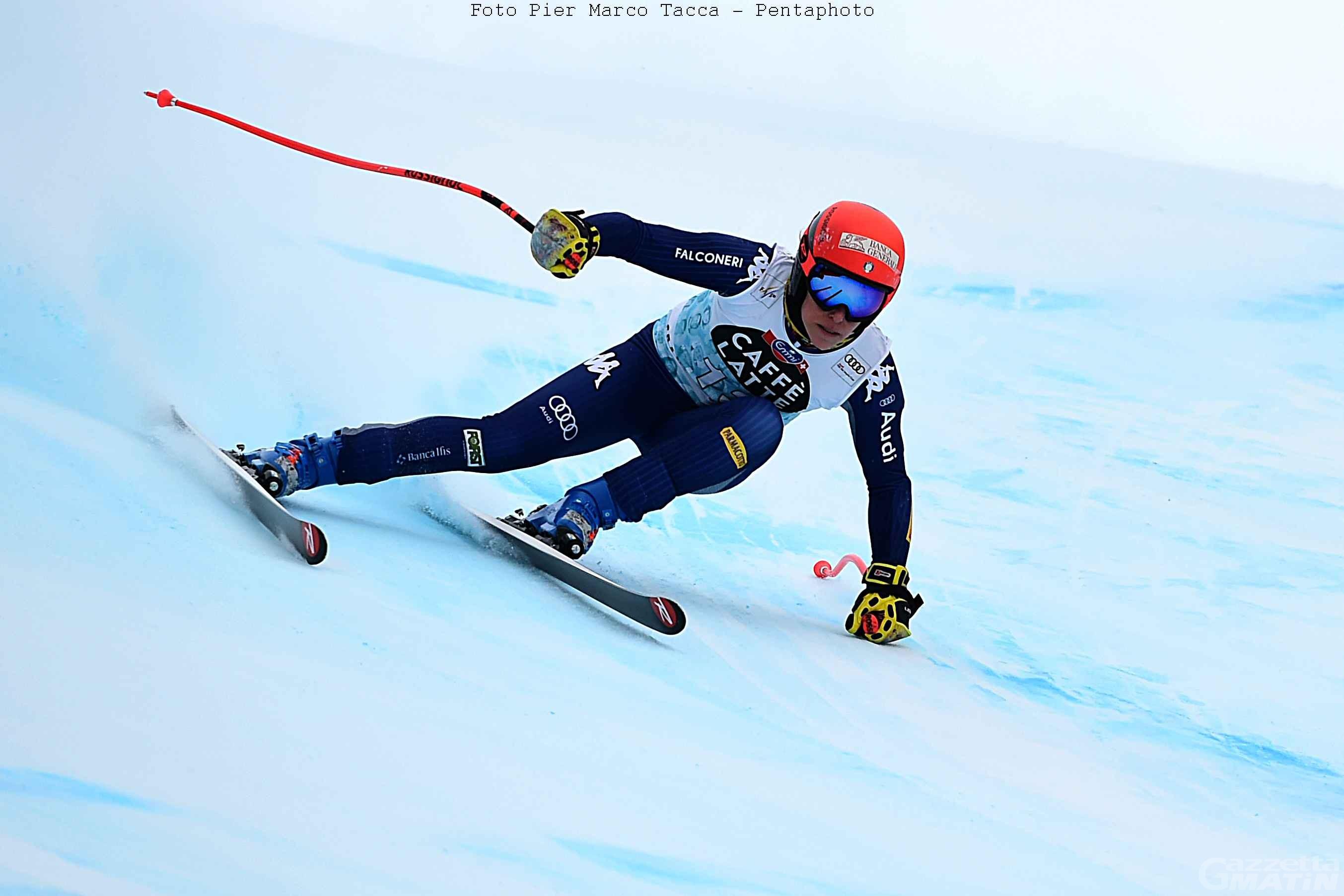 Sci alpino: trionfo Goggia, Brignone 9ª a Crans Montana