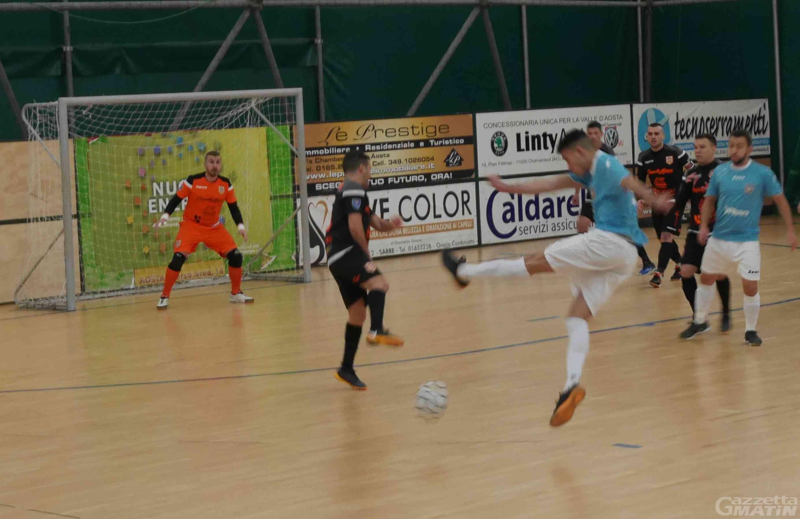 Futsal: pari stretto per l'Aosta Calcio 511 a Villorba