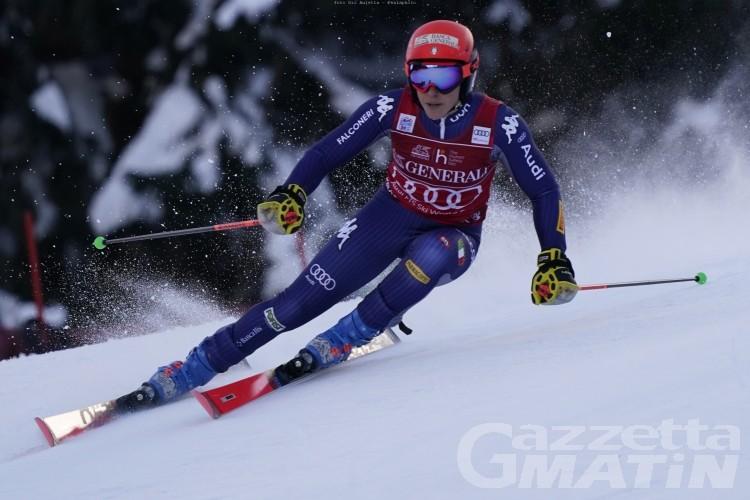 Sci alpino: Federica Brignone 5ª a Kranjska Gora