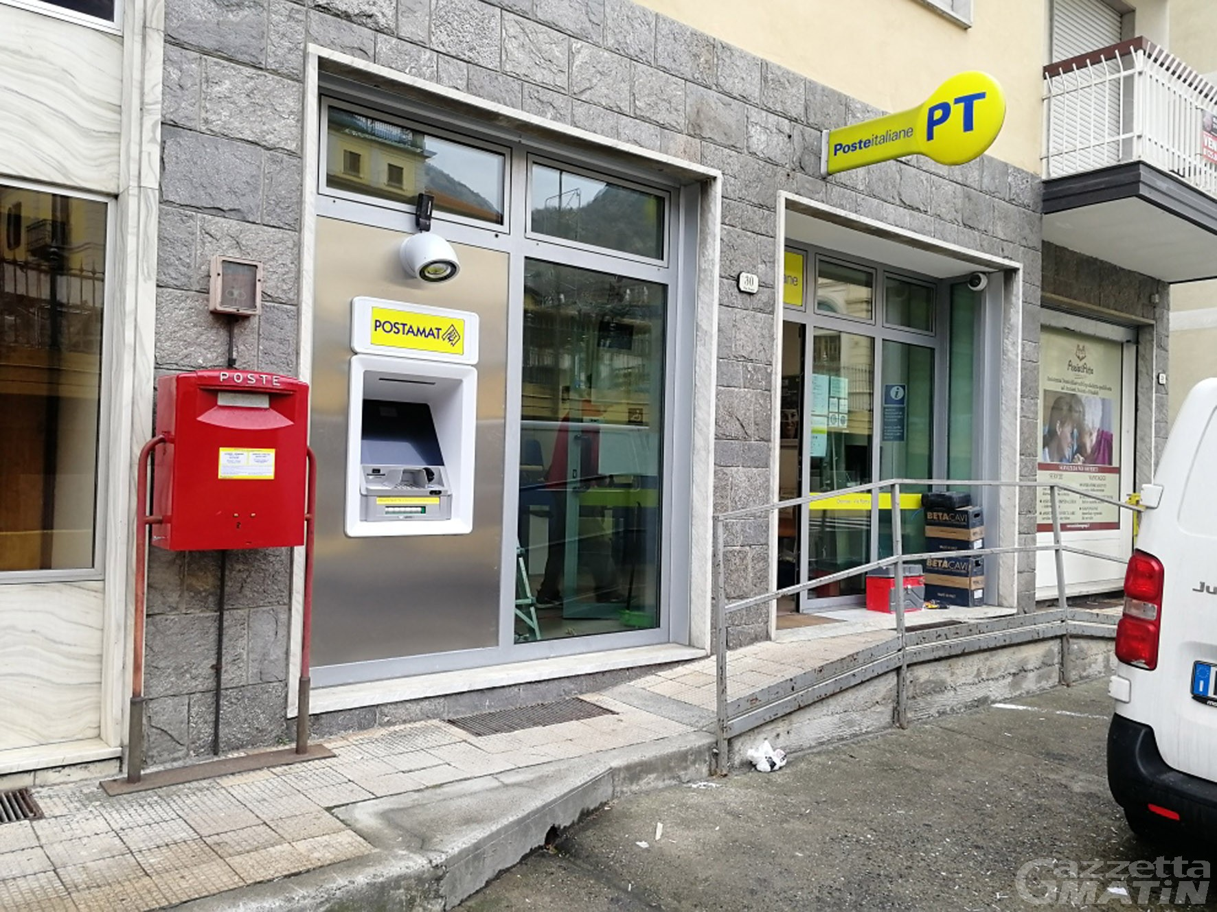 Poste italiane: in funzione 4 nuovi Postamat a Donnas, Arnad, Pontey e Quart
