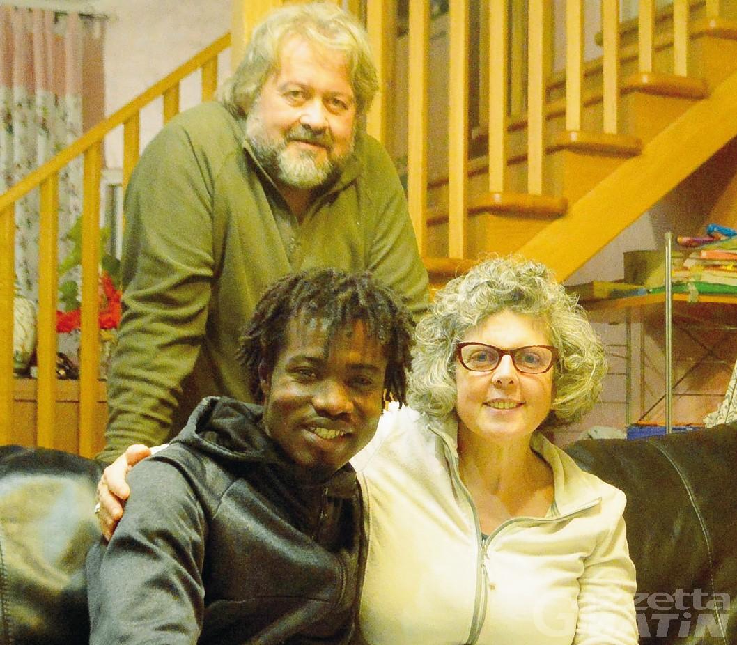 Rifugiati: la storia dell'ivoriano Zie accolto da una famiglia di Pontey