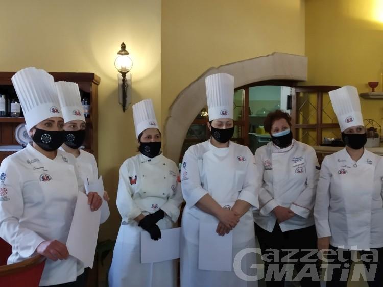 Concorso: la miglior lady chef valdostana è Gaspara Mantovani