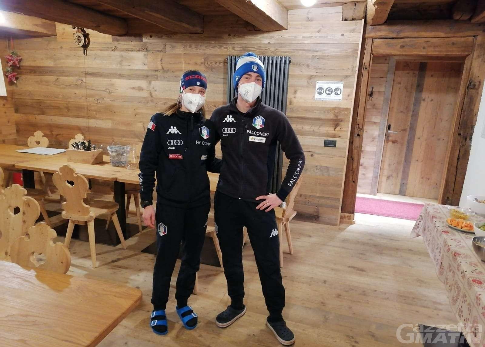Biathlon: Didier Bionaz e Michela Carrara qualificati per l'inseguimento