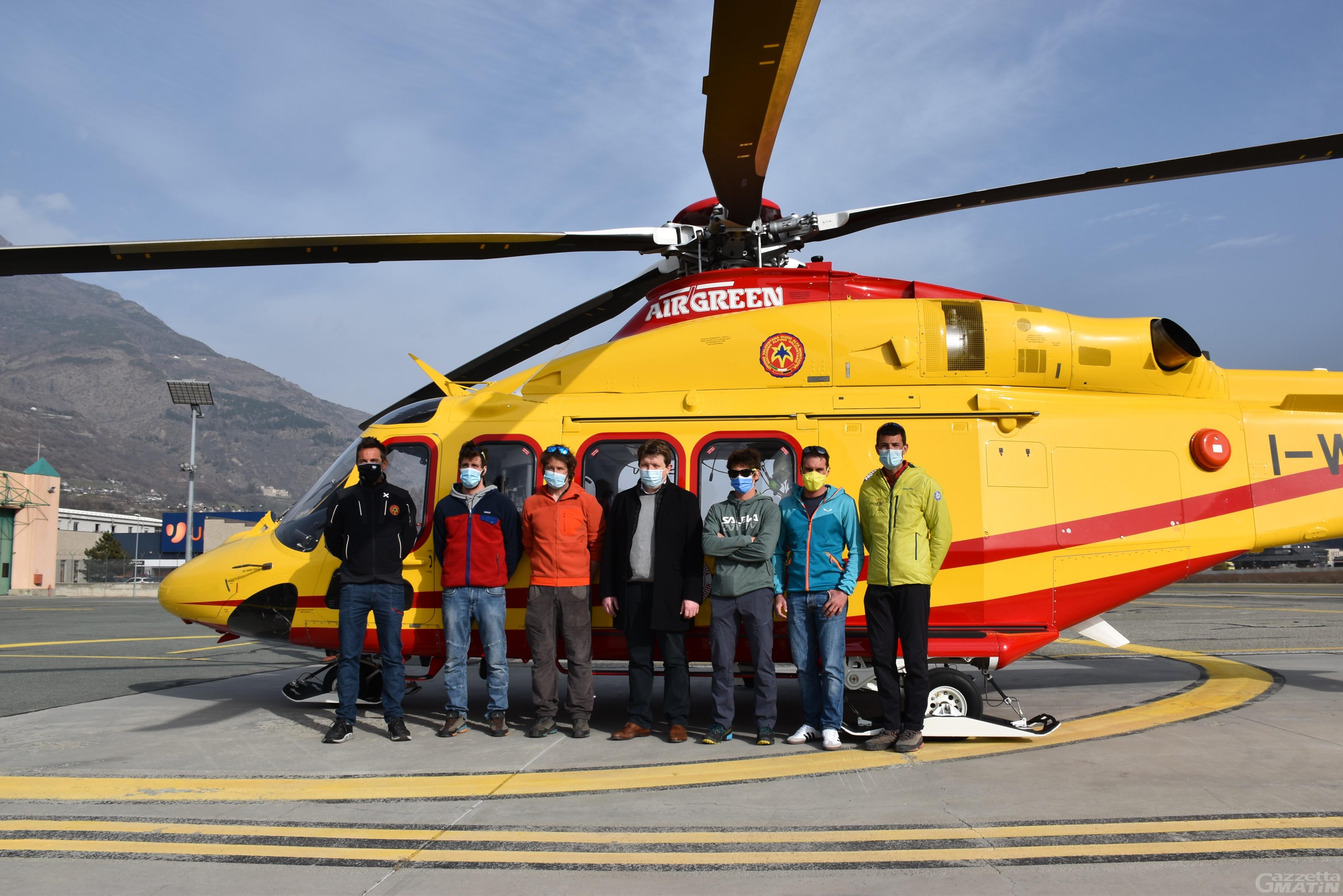 Cinque nuovi tecnici arricchiscono le fila del Soccorso alpino valdostano