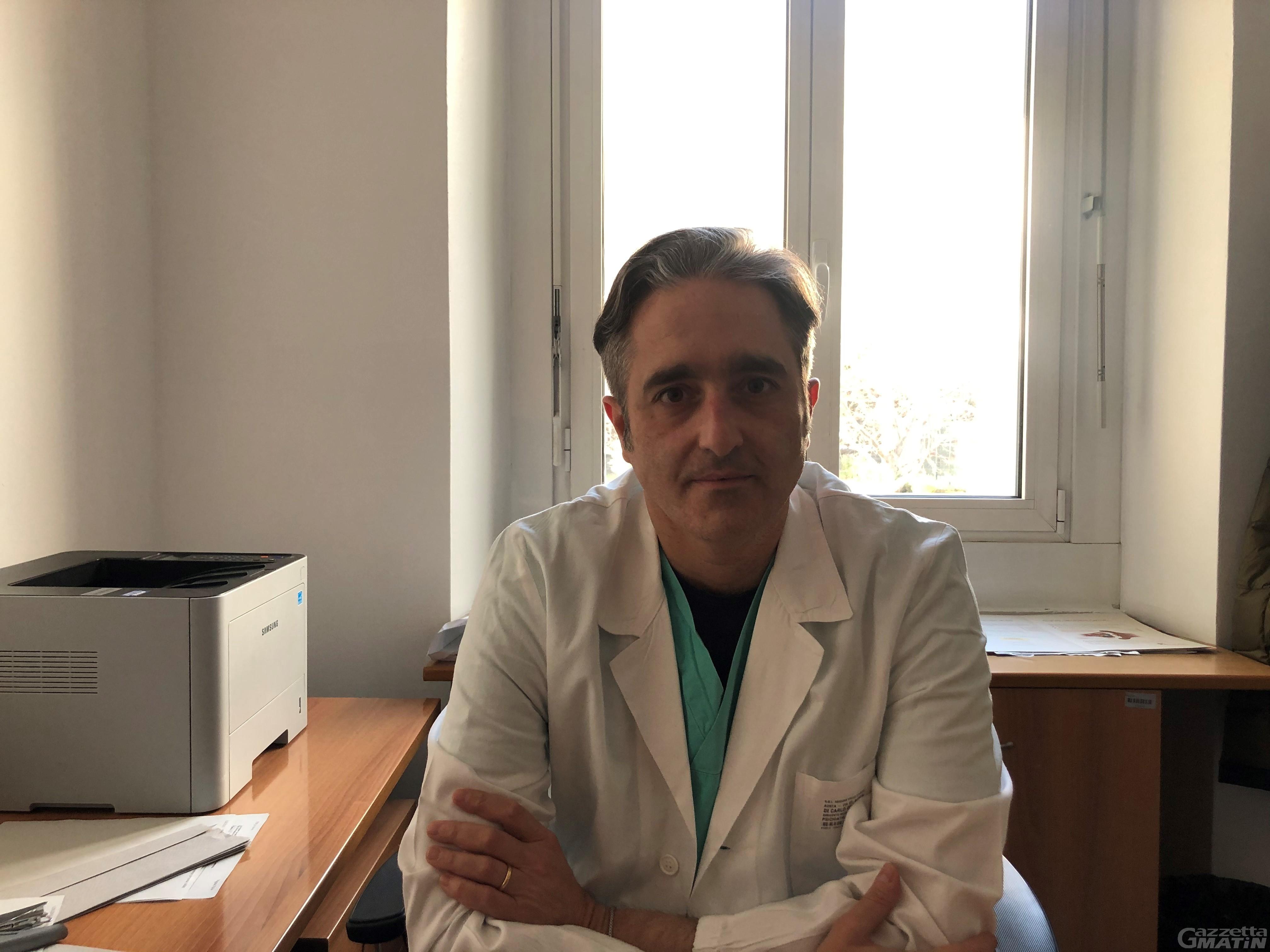 Il dottor Gerardo Di Carlo nuovo responsabile Servizio Ser.D Valle d'Aosta