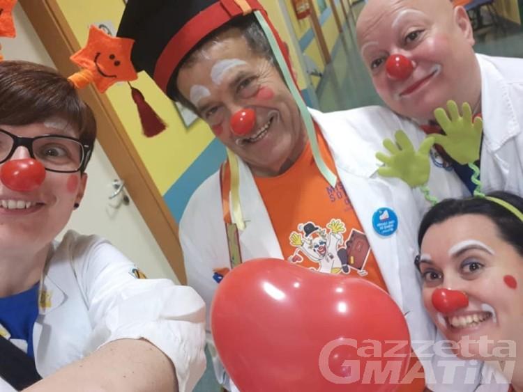Missione Sorriso VdA: i medici clown stonano Sanremo