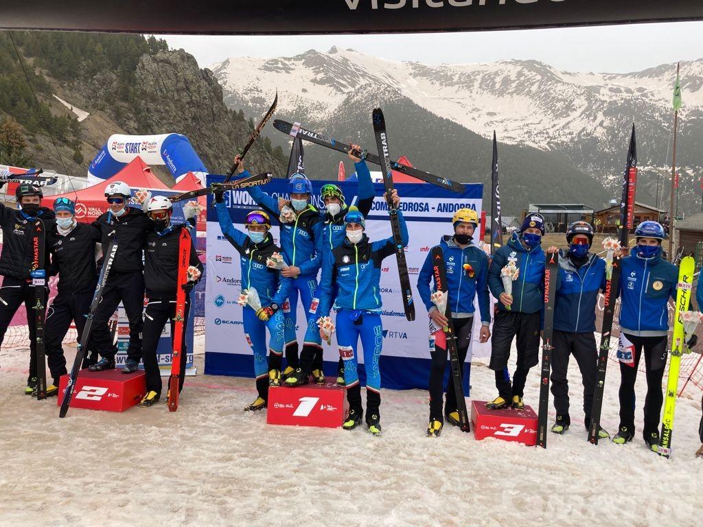 Scialpinismo: Nadir Maguet oro mondiale con la staffetta