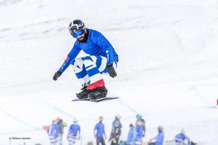 Snowboardcross: Lorenzo Sommariva terzo a Bakuriani