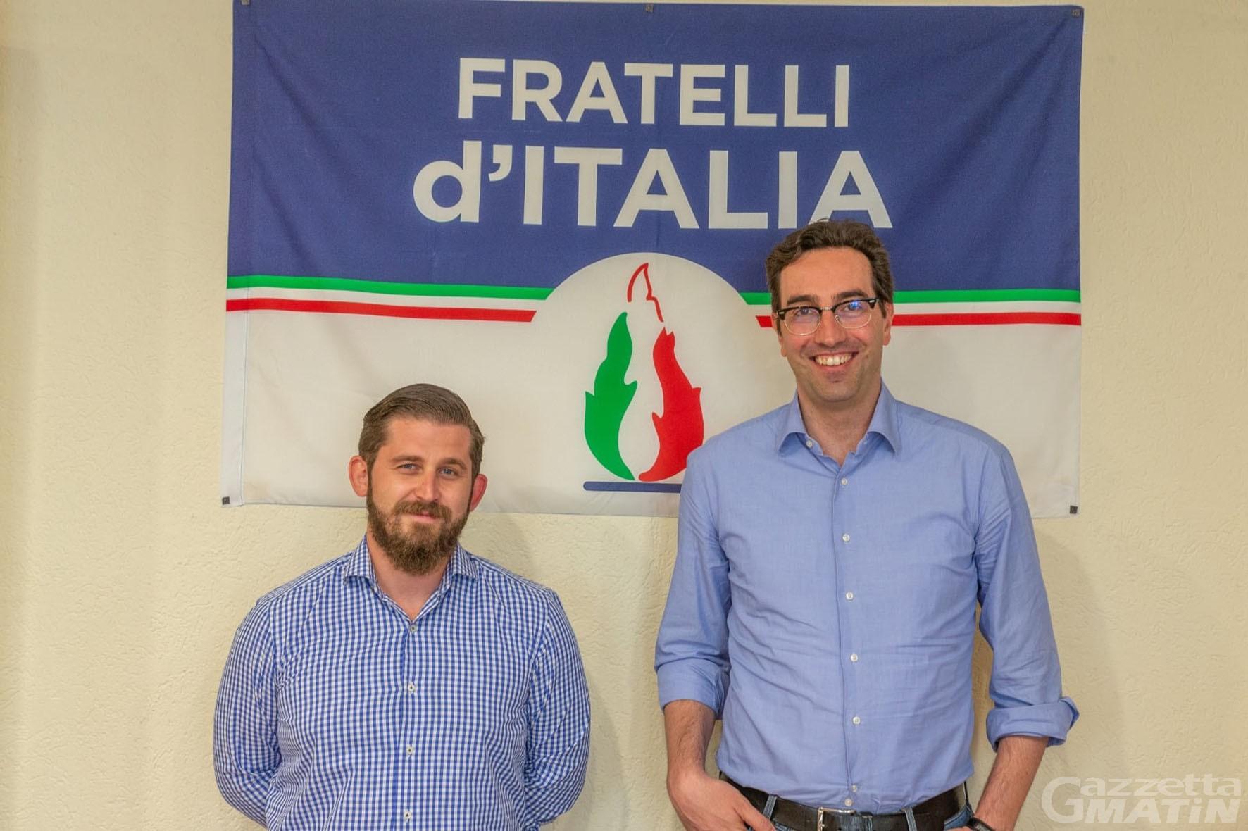 Fratelli d'Italia: Aiello chiede le dimissioni da consigliere di Aosta di Laurencet