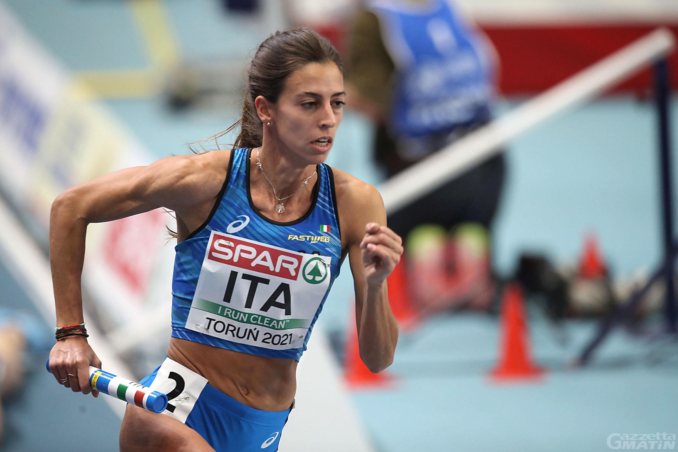 Atletica: Eleonora Marchiando convocata al raduno nazionale staffetta 4×400