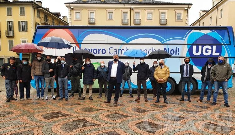 Sindacati: l'Ugl riparte da Aosta «per far sentire la nostra voce»