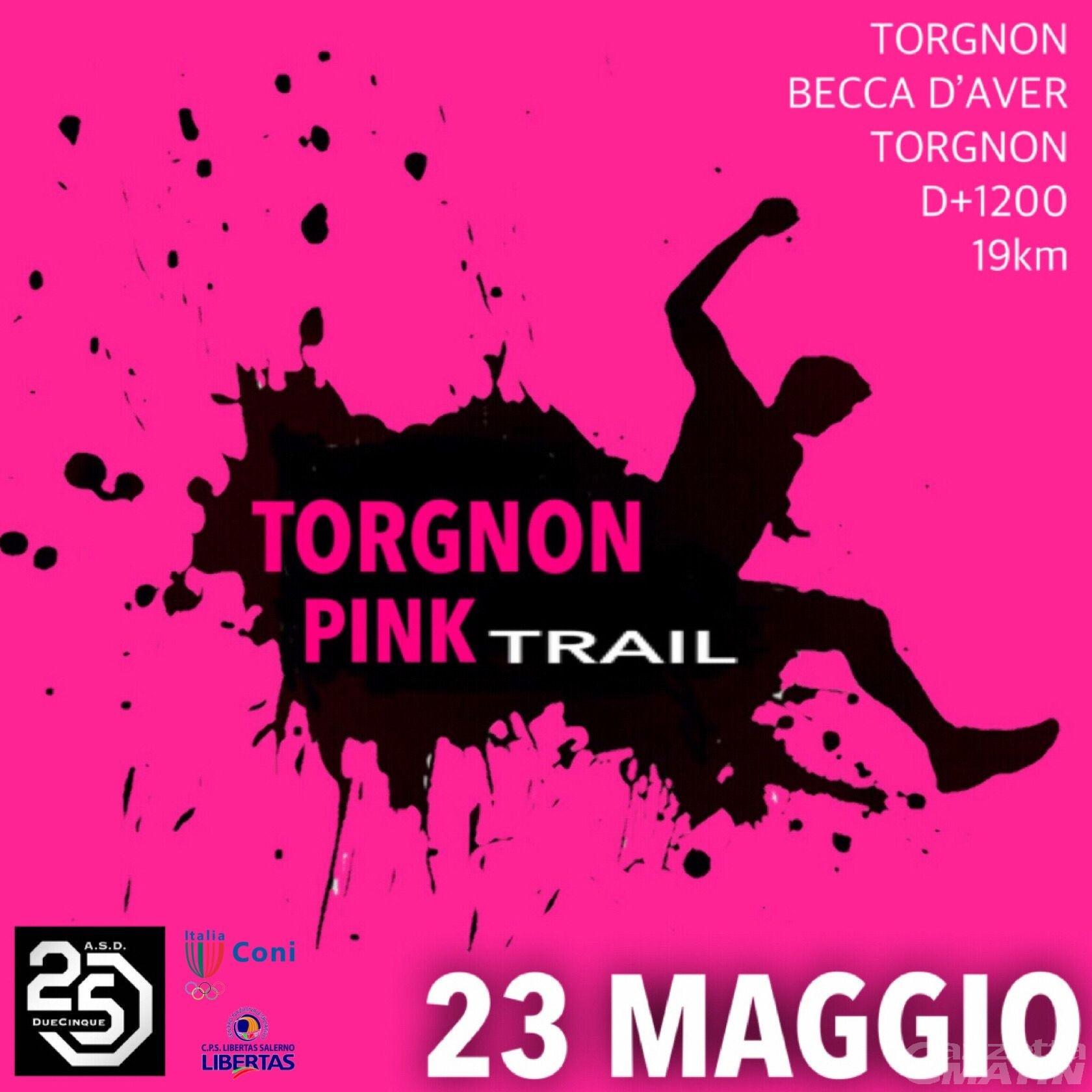 Trail: il Torgnon Pink si presenta tra agonismo e solidarietà