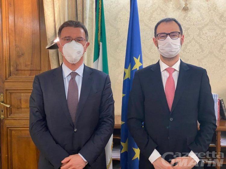 Agricoltura: pagamenti Agea tema dell'incontro tra il senatore Lanièce e il ministro Patuanelli