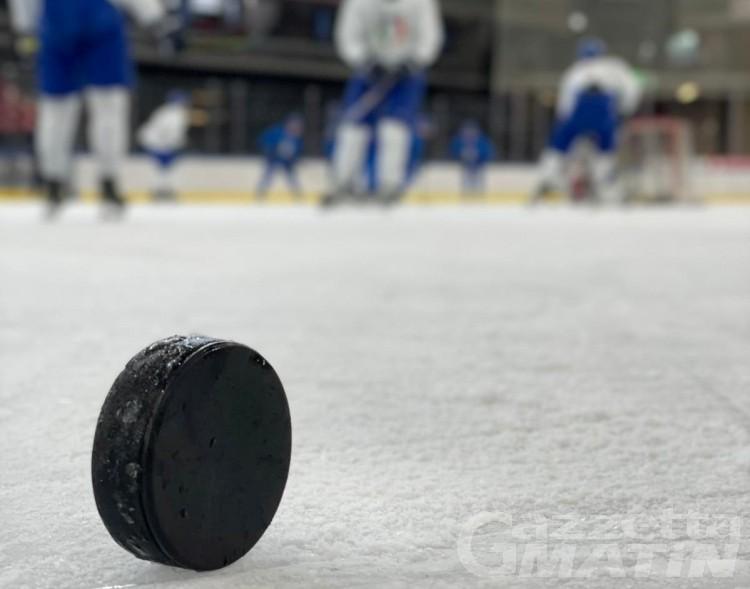 Mondiali Hockey: la nazionale azzurra in raduno ad Aosta