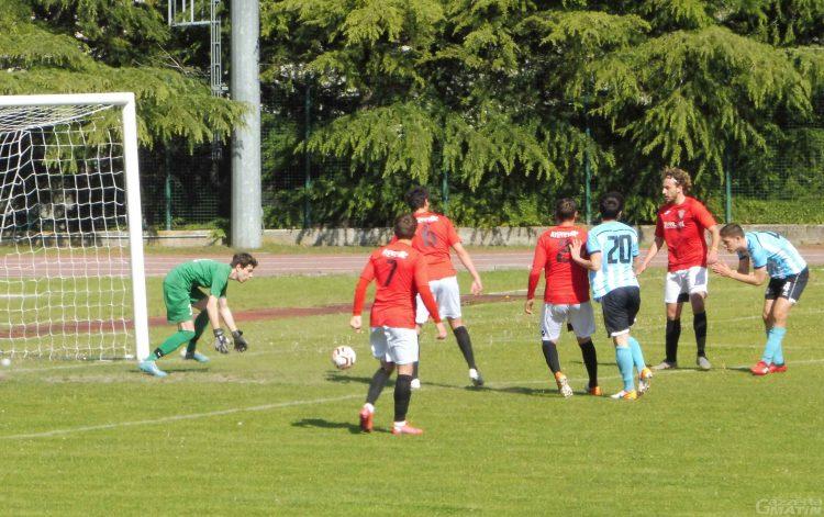 Calcio: l'Aygreville pareggia in casa con il Le Grange Trino