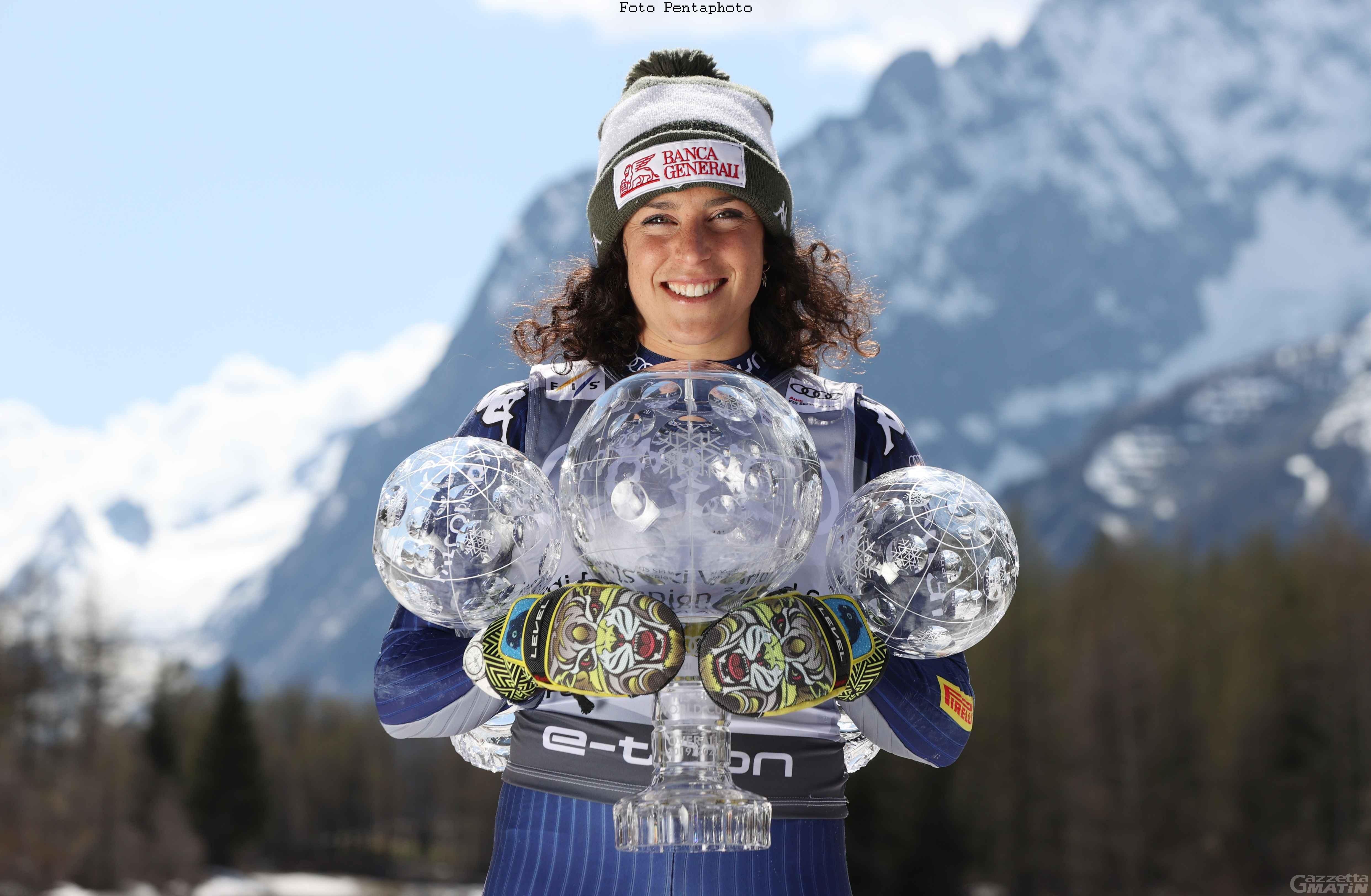 Siviglia: Federica Brignone in lizza ai Laureus World Sports Awards 2021