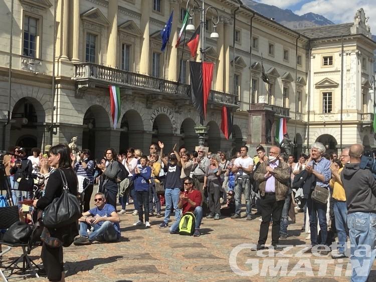 Basta Dad!, protesta Aosta: indagati la deputata Sara Cunial e Luca Vesan