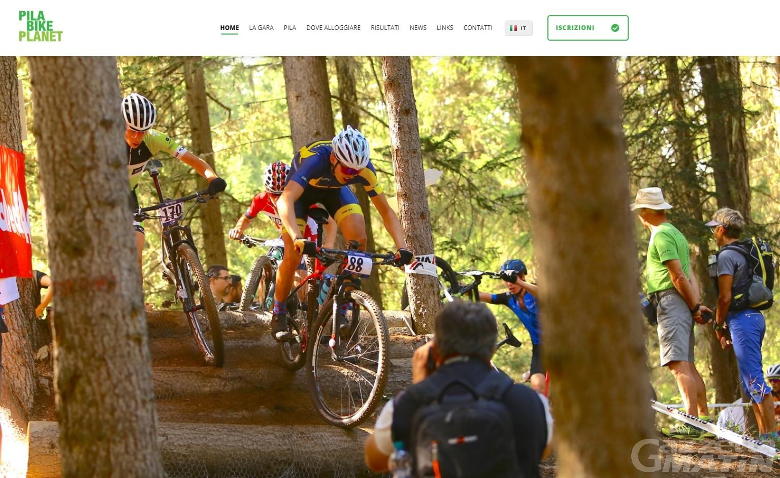 MTB: i campionati europei giovanili di Pila sbarcano sul web